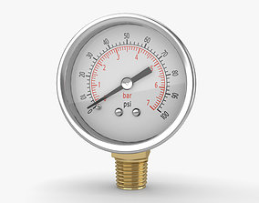 gauges Pressure Gauge 3D model