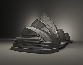 Theater Sydney 3D model