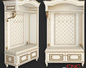 hallway furniture CNC 3D