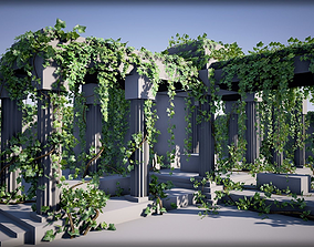 Ivy Pack 3D asset game-ready