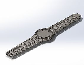 Wareable Watch 3D Prints all in One Peice