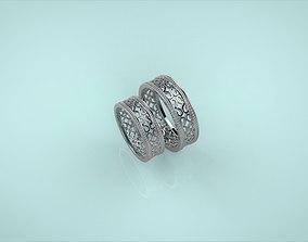 Wedding Rings 3D printable model