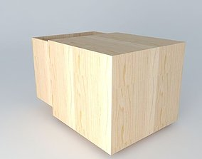 3D created and box for toys