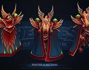 3D printable model Master Kael Thas Blizzard Cosplay