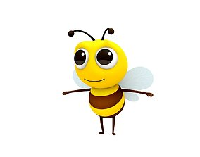 3D toy Bee Character