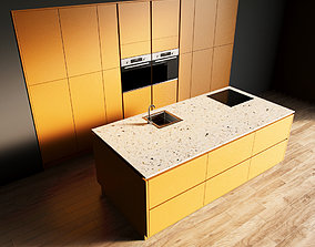 3D model 95-Kitchen11 matte 8