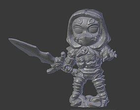 3D print model Chibi Masked Warrior