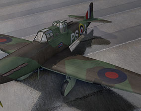 Boulton Paul Defiant Mk-2 3D model