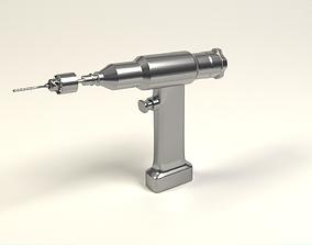 3D model Orthopedic drill