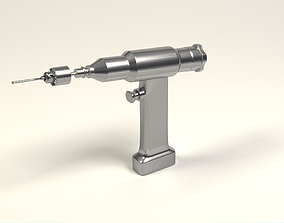 3D model Orthopedic drill