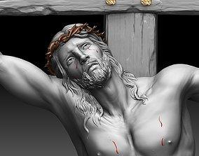 jesus 3D print model Crucifixion of Jesus