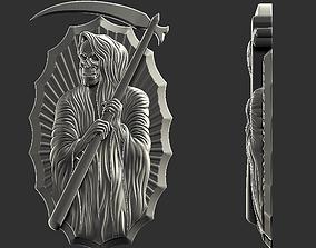 3D printable model Grim Reaper pendant