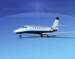 3D model Cessna C680 Citation Soveriegn V16