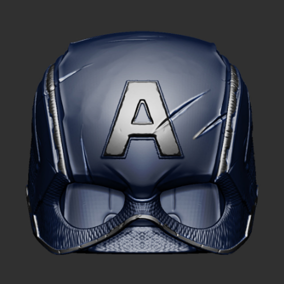 Captain Americal Helmet