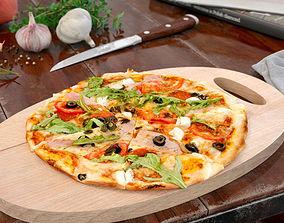 3D model pizza 38 AM151