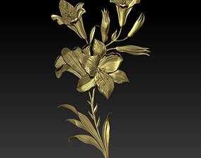 3D print model spring lily
