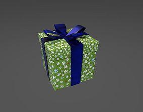 3D model game-ready PBR Gift box