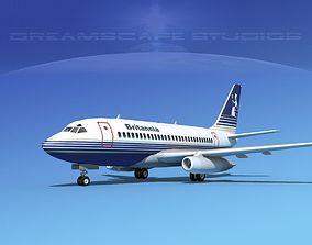 3D model Boeing 737-100 Britannia
