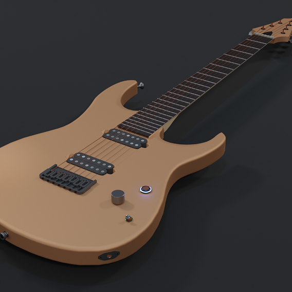 Electric guitar 7 string