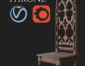 Gothic Throne 3D