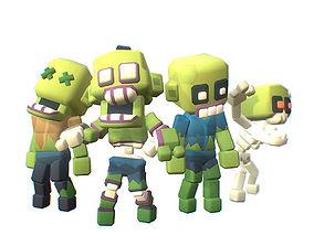 Zombie - Smashy Craft Series 3D model