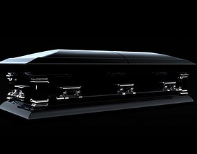 3D model Coffin Casket