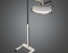 Hospital Surgical Light HPL - PBR Game Ready 3D asset