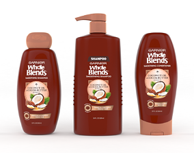 3D Garnier Whole Blends Shampoo and Conditioner