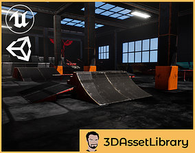 Skate Park Vol 1 For Unreal And Unity 3D model