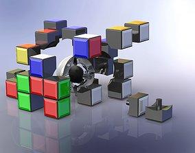 3D model Rubiks cube