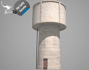 3D asset Water Tower