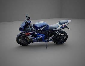 3D model Suzuki GSXR 600