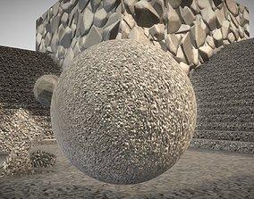Sandstone Soil 1 Texture Set 43 3D model animated