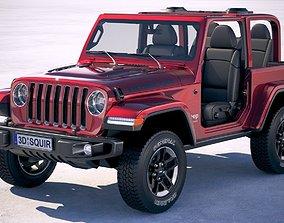 3D model Jeep Wrangler Rubicon 2018