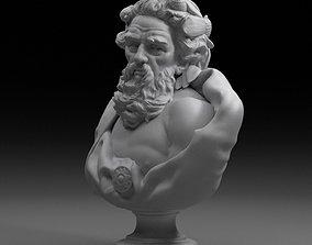 3D model Bust Of Neptune
