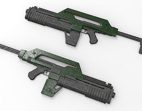 Pulse Rifle M41-A 3D printable model
