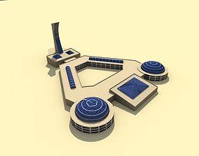 Public Center 3D asset realtime