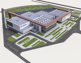 Sports Complex 02 3D model