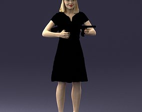 Gangster girl 0921 3D model