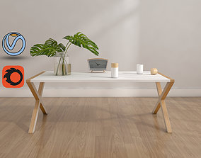 coffee table 3D model furniture coffee-table