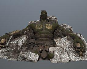stone Worrior 3D model