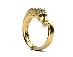 3D print model Horse ring fashion