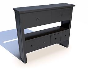 3D model Black cabinet PBR