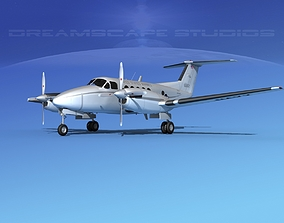 Beechcraft UC-12Q Huron V07 USMC 3D