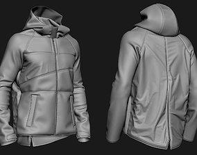 3D model Zbrush Jacket 02