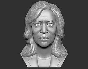 Kamala Harris bust 3D printing ready stl obj formats