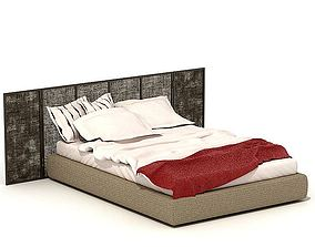 Full Size Bed 3D
