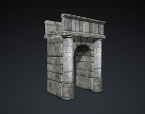 Old arch 3D model