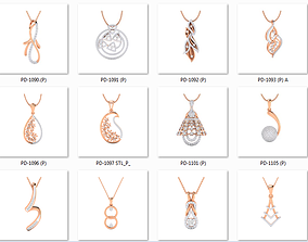 collection 100 Pendant 3dm jcd render details