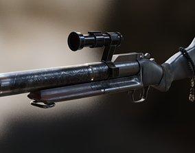 M79 GRENADE LAUNCHER REALISTIC PBR 3D